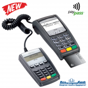 Стационарный терминал Ingenico ICT220 GSM/Ethernet/ Dial-up с выносной клавиатурой Contactless